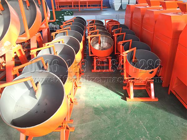 Organic Fertilizer Disc/pan Granulation Machine To India
